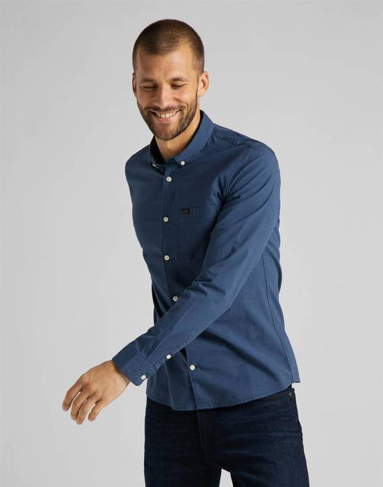 LEE - KOSZULA SLIM BUTTON DOWN L66XRT35